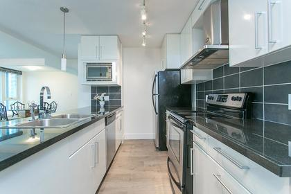 kitchen at #802 - 633 Abbott Street, Downtown VW, Vancouver West