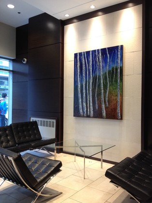 lobby at #802 - 633 Abbott Street, Downtown VW, Vancouver West