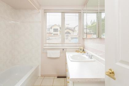 bathroom main at 720 Anderson Cresent, Sentinel Hill, West Vancouver