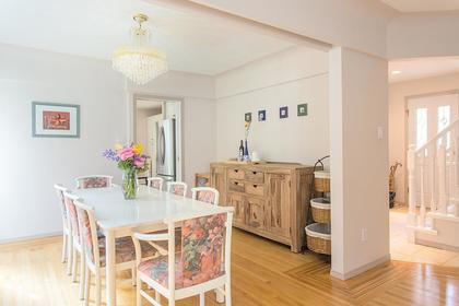 dining room R at 720 Anderson Cresent, Sentinel Hill, West Vancouver