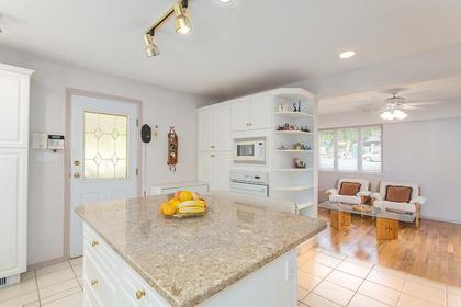kitchen island at 720 Anderson Cresent, Sentinel Hill, West Vancouver
