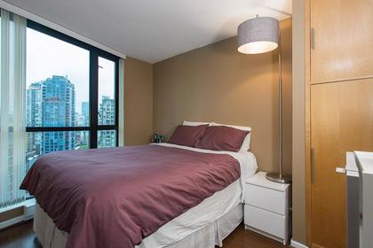 bdrm at #1907 - 501 Pacific Street, Downtown VW, Vancouver West