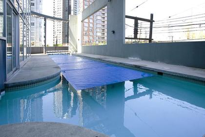 indoor outdoor swimming pool at #1907 - 501 Pacific Street, Downtown VW, Vancouver West