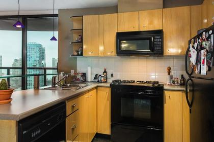 kitchen 2 at #1907 - 501 Pacific Street, Downtown VW, Vancouver West