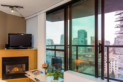 view - city view from living room at #1907 - 501 Pacific Street, Downtown VW, Vancouver West