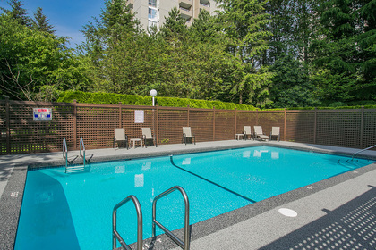 outdoor-swimming-pool at #302 - 7321 Halifax Street, Simon Fraser Univer., Burnaby North