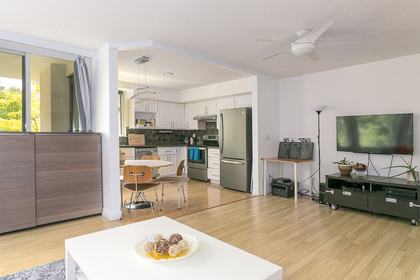 unit-open-to-kitchen at #302 - 7321 Halifax Street, Simon Fraser Univer., Burnaby North