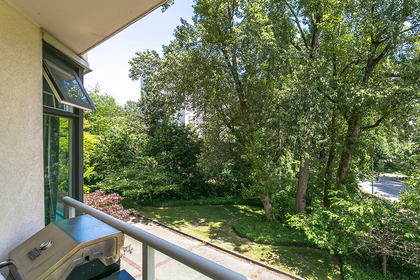 view-green-outlook at #302 - 7321 Halifax Street, Simon Fraser Univer., Burnaby North