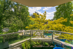 view-balcony at #302 - 7321 Halifax Street, Simon Fraser Univer., Burnaby North