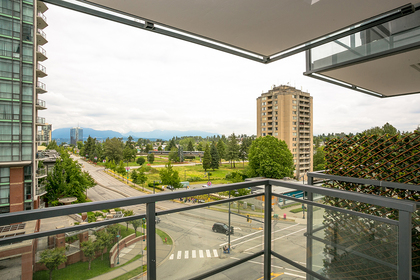 view-balcony at #706 - 13398 104 Avenue, Whalley, North Surrey
