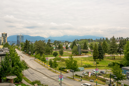 view-mountain-city at #706 - 13398 104 Avenue, Whalley, North Surrey