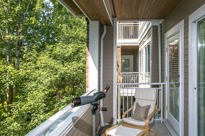 balcony at #304 - 5760 Hampton Place, University VW, Vancouver West