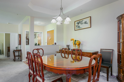 dining-rm-entry at #304 - 5760 Hampton Place, University VW, Vancouver West
