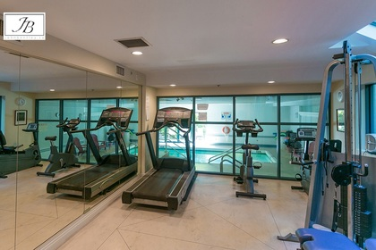 gym at #304 - 5760 Hampton Place, University VW, Vancouver West