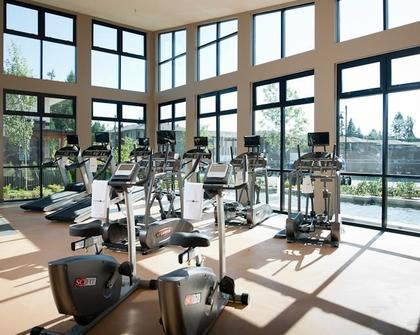 gym at #1209 - 3093 Windsor Gate, New Horizons, Coquitlam