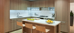kitchen island at #1610 - 6588 Nelson Avenue, Metrotown, Burnaby South