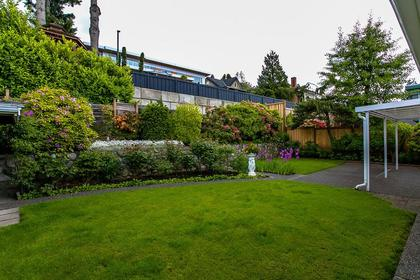 backyard at 350 N Hythe Avenue, Capitol Hill BN, Burnaby North
