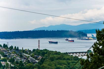 view - inlet at 350 N Hythe Avenue, Capitol Hill BN, Burnaby North