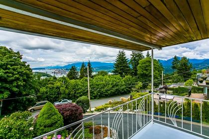 view from balcony at 350 N Hythe Avenue, Capitol Hill BN, Burnaby North
