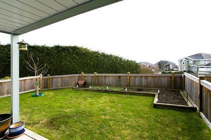 Fenced Backyard at #38 - 1751 Paddock Drive, Westwood Plateau, Coquitlam