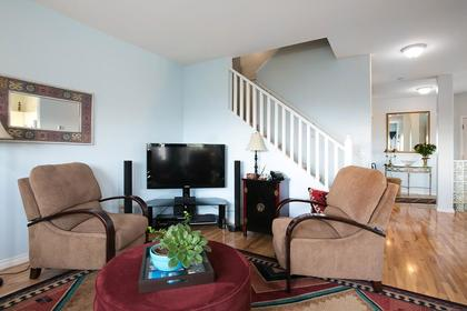 Living Room (stairs) at #38 - 1751 Paddock Drive, Westwood Plateau, Coquitlam