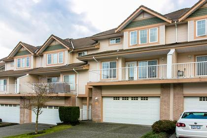 exterior back double garage at #5 - 1751 Paddock Drive, Westwood Plateau, Coquitlam