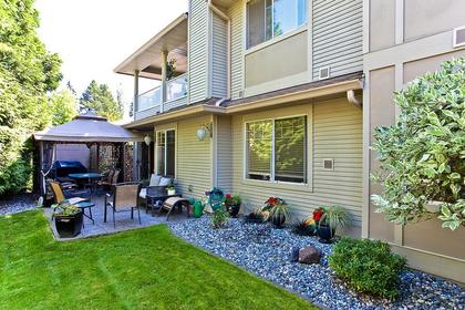 backyard at #126 - 20391 96th Avenue, Walnut Grove, Langley