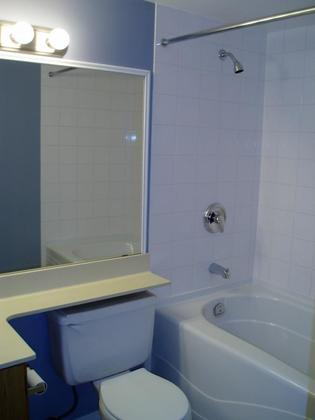 Updated Bathroom at #G10 - 1690 Augusta Avenue, Simon Fraser Univer., Burnaby North