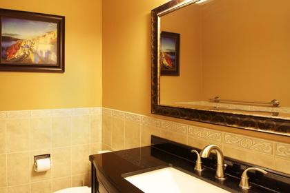 Downstairs Bathroom at 1243 Nestor Street, New Horizons, Coquitlam