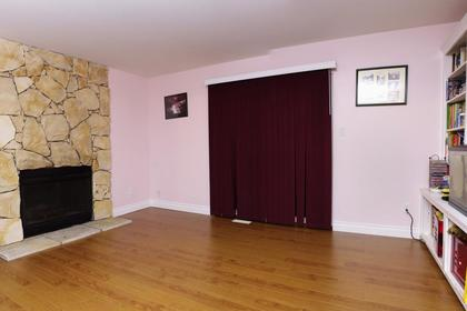 Family Room at 1243 Nestor Street, New Horizons, Coquitlam
