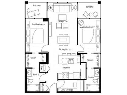 FloorPlan at #1204 - 933 Hornby Street, Downtown VW, Vancouver West