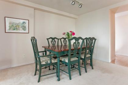 Dining Room at #1106 - 1500 Hornby Street, Yaletown, Vancouver West