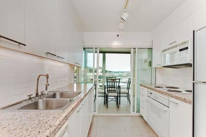 Kitchen at #1106 - 1500 Hornby Street, Yaletown, Vancouver West