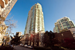Building Exterior at #1106 - 1500 Hornby Street, Yaletown, Vancouver West
