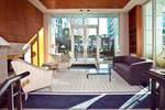 Lobby Lounge at #1106 - 1500 Hornby Street, Yaletown, Vancouver West