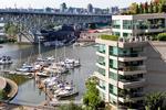 View of Granville Island & Bridge at #1106 - 1500 Hornby Street, Yaletown, Vancouver West