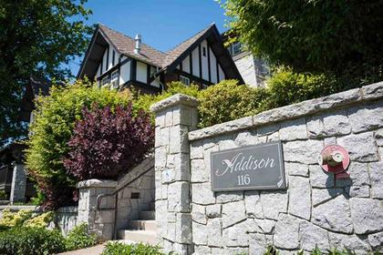Addison at #101 - 116 W 23rd Street, Central Lonsdale, North Vancouver