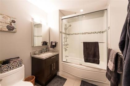 bathroom at #101 - 116 W 23rd Street, Central Lonsdale, North Vancouver