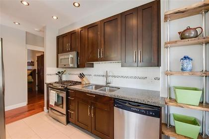 kitchen  at #101 - 116 W 23rd Street, Central Lonsdale, North Vancouver