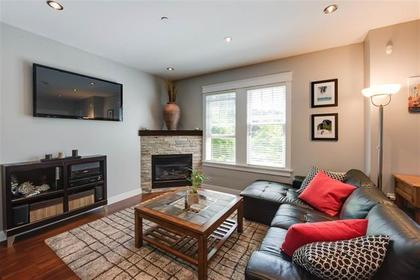 living room at #101 - 116 W 23rd Street, Central Lonsdale, North Vancouver