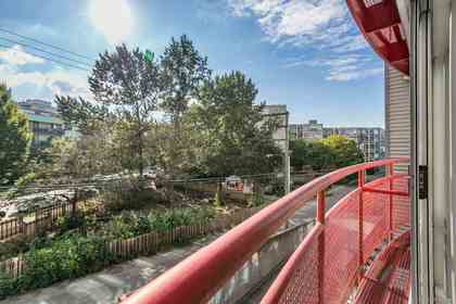 balcony-view-s at #323 - 350 East 2nd Avenue, Mount Pleasant VE, Vancouver East