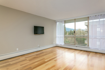 living-rm-balcony at #1204 - 2016 Fullerton Avenue, Pemberton NV, North Vancouver