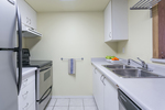 kitchen at #1003 - 838 Agnes Street, Downtown NW, New Westminster