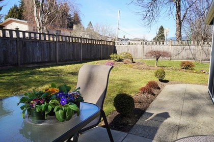 patio-backyard at 1605 Augusta Avenue, Simon Fraser Univer., Burnaby North