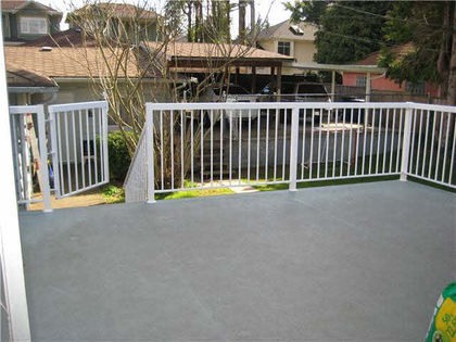 deck at 6720 Burns Street, Upper Deer Lake, Burnaby South