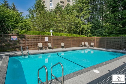 outdoor-swimming-pool at #402 - 7321 Halifax Street, Simon Fraser Univer., Burnaby North