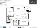 floorplan at #402 - 7321 Halifax Street, Simon Fraser Univer., Burnaby North