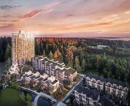 building-community-birdeyes at #1104 - 3487 Binning Road, University VW, Vancouver West