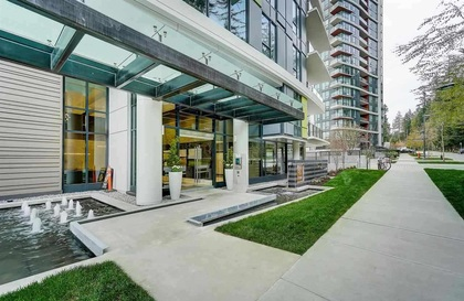 building-entrance at #1104 - 3487 Binning Road, University VW, Vancouver West