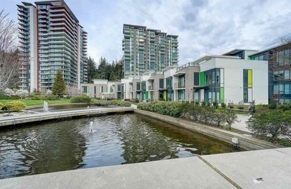 building-exterior-w-water-features at #1104 - 3487 Binning Road, University VW, Vancouver West